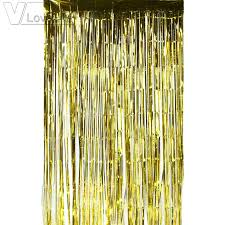 Foil Fringe Curtain Singapore by 2m 1m Metallic Tinsel Curtain Foil Fringe Backdrop Wedding