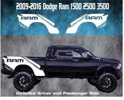 100 Ram Truck Decals 20092016 Dodge Splash Vinyl Decal Graphic Bed Stripes