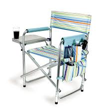 Shop Picnic Time Aluminum Folding Camping Chair At Twin Sleeper Chair
