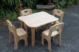 Childs Wooden Table And Chairs Nz - Photos Table And Pillow ...