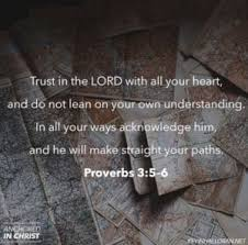 Biblical Proverbs About Guidance