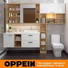 oppein moderne wand holz badezimmer eitelkeit badezimmer