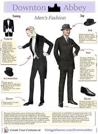 Downton Abbey Mens Fashion Costume