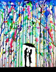 Inspiration For Silhouette Melted Crayon Art Stunning Ink Paintings By Marc Allante Is An Independent Self Taught Artist Of Chinese And French