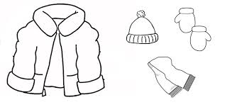 Scarf Clipart Black And White