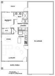 Smart Design 4 Floor Plans RV Port Home Floorplan With Garage Apartment
