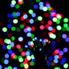Flagpole Christmas Tree by Rgb 100 Led Christmas String Light Outdoor Decoration Fairy Sales