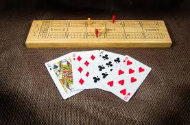 Download Cribbage Board And Cards Stock Photo Image Of Close