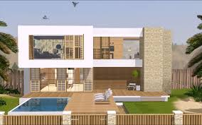 Sims 3 Floor Plans Download by The Sims 3 Modern Hollywood House 1080p Thai Traditional