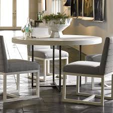 Modern Robards Round Dining Table Quartz