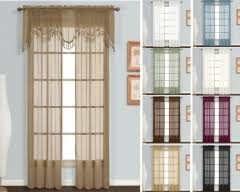 Priscilla Curtains With Attached Valance by Rod Pocket Curtains U0026 Valances 4 Less Shop Now To Save