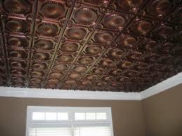Antique Ceiling Tiles 24x24 by Tin Ceiling Tiles Faux Tin Antique Copper Ceiling Tile Www