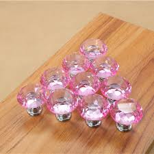 cheap dresser knobs astonishing artistic design tough solid pink