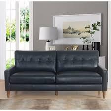 Wayfair Soho Leather Sofa by Square Arm Leather Sofas You U0027ll Love Wayfair
