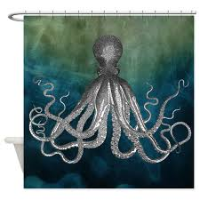 Octopus Shower Curtain by InspirationzStore