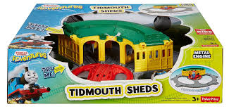 Thomas The Train Tidmouth Shed Instructions by Amazon Com Fisher Price Thomas The Train Thomas Adventures