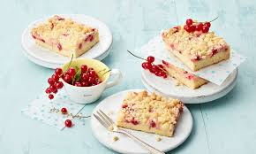 johannisbeer pudding kuchen