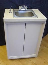 sb001 portable self contained stainless steel sink single basin 6