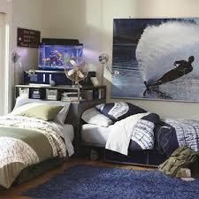 Locker Bed & Corner Unit Set Twin Navy PBteen Polyvore