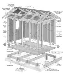8x10 Saltbox Shed Plans by 8x10 Saltbox Shed Plans 8x10 Shed Plans Pinterest