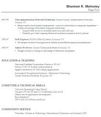 Resume Examples For College Graduate With No Experience And Sample