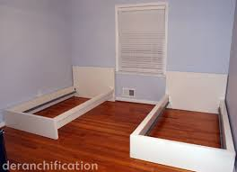 Malm Bed Assembly by Bed On It Big Beds Deranchification