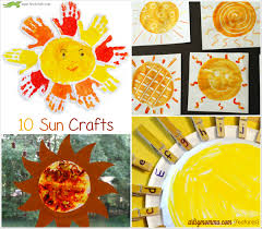 10 Sun Crafts For Kids To Make This Summer