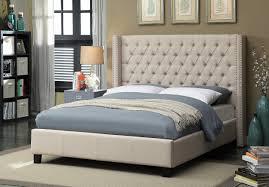 Marilyn Monroe Bedroom Furniture by Ashton Bed Full Size Beige Buy Online At Best Price Sohomod