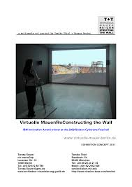 virtuelle mauer reconstructing the wall