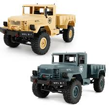 100 Ebay Rc Truck Details About RC Military Offroad 116 6WD Remote Controlled 10kmh Toy Car New