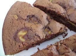 dessert rapide chocolat banane recette gâteau moelleux chocolat banane 750g