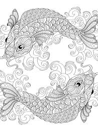 Relaxing Yours With Coloring Pages
