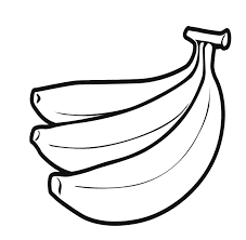 Inspirational Banana Coloring Page 24 In Line Drawings With