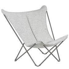 Folding Lounge Chair Sphinx Sunbrella Tundra | Lafuma Mobilier