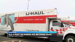 New U-Haul Store Moves Into Old Owensboro Kmart Diy Moving Heavy Items With A Dolly Youtube Uhaul Ratchet Tiedown Convertible Hand Truck Quick Release Magna Cart Personal First 5x8 Trailer Loaded Up And Ready To Go Latest News Breaking Headlines Top Stories Photos Rug Storage Bag Large Rent Hinds Inventory On Equipment Moving Pads Appliance Dollies Hand Fniture