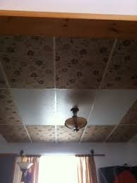 Staple Up Ceiling Tiles Canada by How To Makeover Drop Ceiling Tiles Drop Ceiling Tiles Ceiling