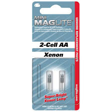 maglite xenon replacement ls for 2 cell aa flashlights 2 pack