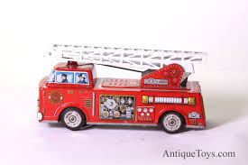 Fire Truck Battery Op For Sale By Hornikawa Or SH *sold* - Antique ... Vintage Tootsie Toy Fire Trucks Country Tazures Toys Pickup Trucks Lot 9 Vtg 1970s Diecast Plastic Jeep Uhaul Panel Otsietoy Red Hook And Ladder Truck Facing Front Right Otsietoy Aerial With Extension 1940s Tootsietoy 236 Lofty Antique Water Tower 1920s 4 Color Version Hubley Ladders From The 1930s For Sale Pending Prewar Tootsietoys Article By Clint Seeley