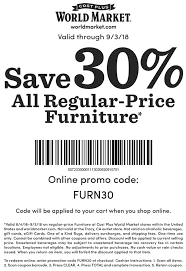 World Market Coupons - 30% Off Furniture At World Market, Or Online ... 28 Proven Cost Plus World Market Shopping Secrets The Krazy Coupon 40 Off Coupons Promo Discount Codes Wethriftcom Tint World Cary Code For Mermaid Swim Tails Save Money With Direct Cbd Online Coupon Get Now Coupons Lady Best Black Friday Sales Home Decor Fniture Peoplecom Market Archives Addisons Woerland On Itunes Baja Fresh And More Encino How To Develop A Successful Marketing Strategy Increase Hello Kitty Collecvideosinspiration Ecommerce Promotions 101 For 20 Growth