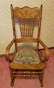 Circa 1900 Lock 1776 Rocking Chair Antique Appraisal ... Victorian Arts And Crafts Solid Oak Antique Glastonbury Chair Original Primitive Press Back Rocking 1890 How To Appraise Chairs Our Pastimes Bargain Johns Antiques And Mission Identifying Ski Country Home Replace A Leather Seat In An Everyday Wooden High Chair From 1900s Converts Into Rocking Lborough Leicestershire Gumtree Sold Style Refinished Maple American Style Childs Antiquer Rocker Reupholstery Vintage
