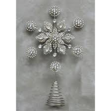 Unlit Christmas Tree Toppers by Snowflake Tree Toppers Christmas Wikii