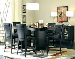 Tall Dining Room Table Chairs Bar Height Pub Set Furniture Org