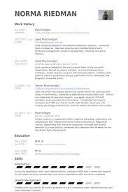 clinical psychology resume sles psychologist resume sles visualcv resume sles database