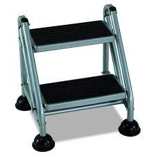 Amazon.com: Cosco 3-Step Rolling Step Ladder, Grey: Home Improvement