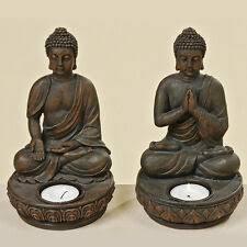 deko kerzenständer teelichthalter mit buddha fürs