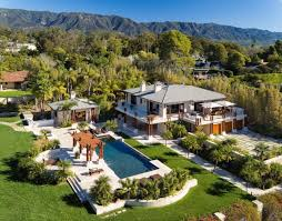 100 Million Dollar Beach Homes Montecito A Secluded Paradise Of Celebrity Mansion