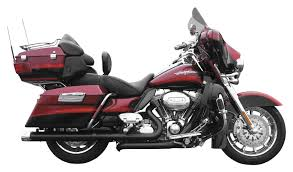 Vance And Hines Dresser Duals Heat Shields by Rush True Dual Headers For Harley Touring Revzilla