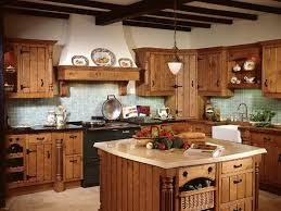 Rustic Kitchen Cabinets With Artistic Design