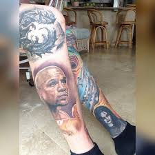 Floyd Mayweather Tattoo All Healed Up Floydmayweather Floydmayweatherjr