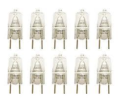 vstar皰 g8 120v 20w halogen light bulbs 2700k with g8 base